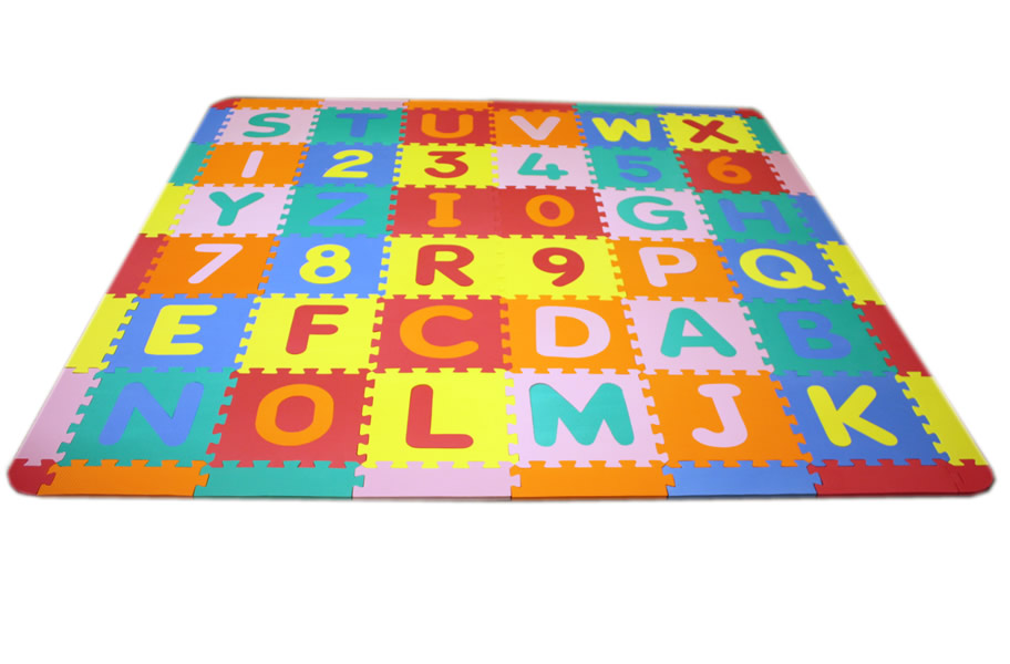 Medium Foam Abc 123 Mat Kids Foam Puzzle Mat