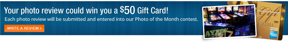 Your photo review could win you a $50 Visa Gift Card!