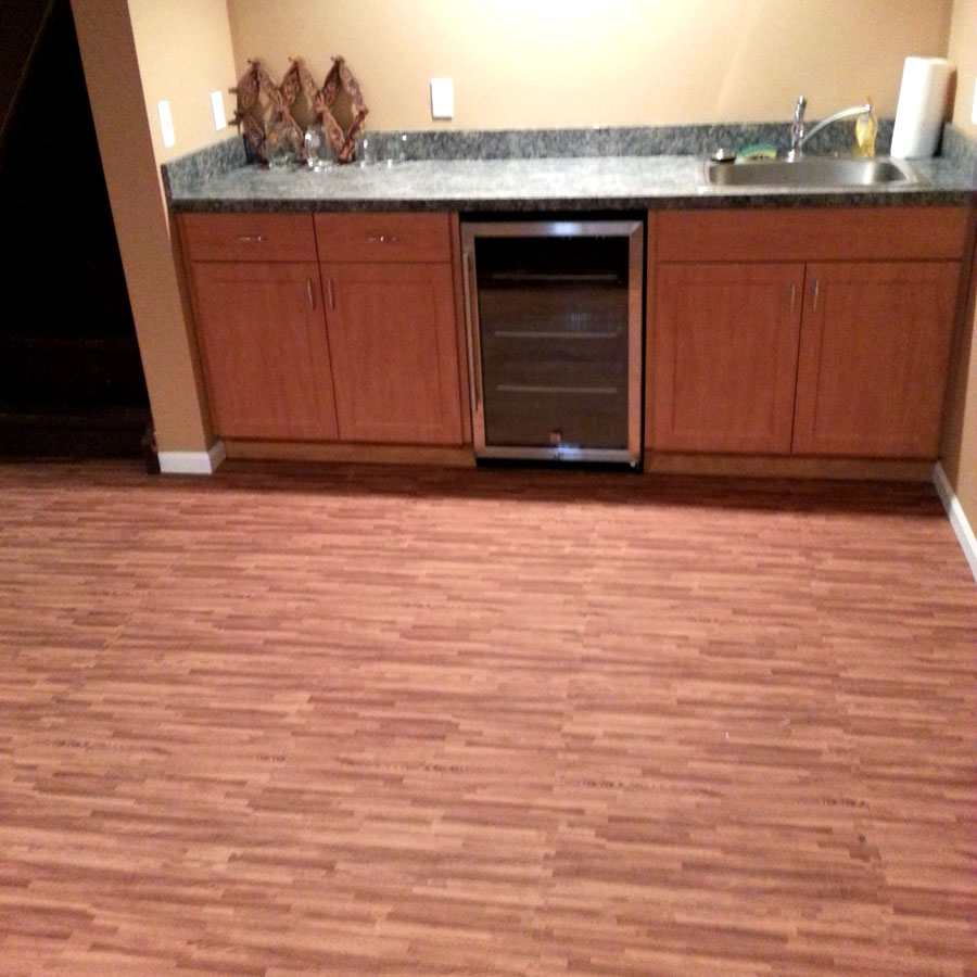 RubberFlooringInc- Customer - Premium Soft Wood Tiles - Interlocking Foam Mats