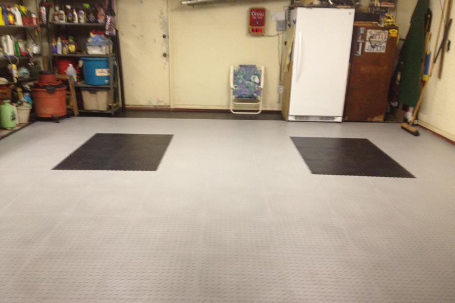 Coin Flex Tiles Modular Pvc Garage Floor Tiles