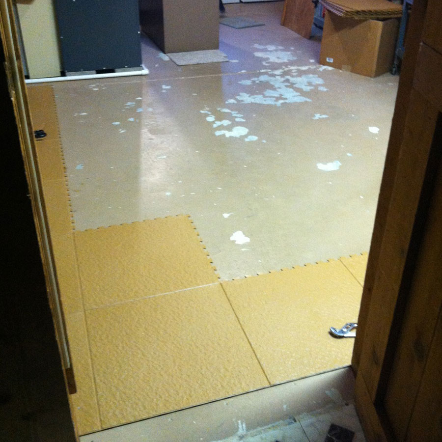 Slate flex tiles interlocking pvc garage flooring rubberflooringinc customer dailygadgetfo Images