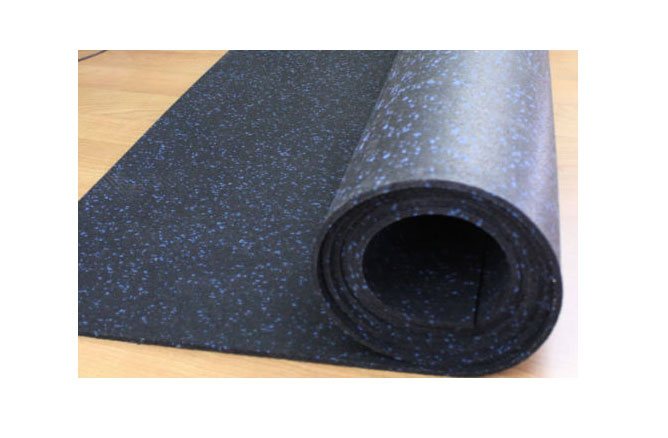 Incstores Rubber Gym Mats 4 X10 Portable Equipment Mat