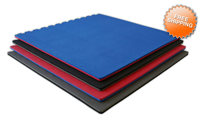 7 8 jumbo soft foam tile mat eva anti fatigue. Black Bedroom Furniture Sets. Home Design Ideas