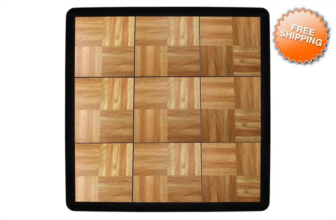 Tap Dance Board Flooring Tiles 3 X3 Square 9 Tile Set