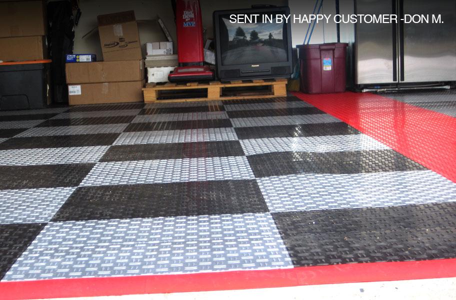Rubber Floor Tiles: Click Together Rubber Floor Tiles