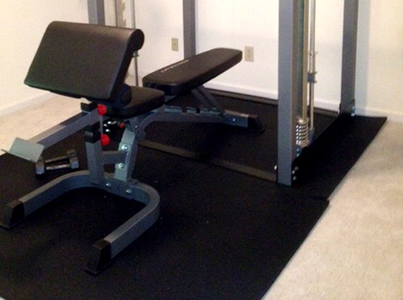 Best flooring for home gym over carpet vidalondon