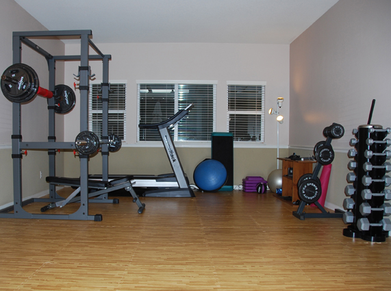 Home gym flooring how to install