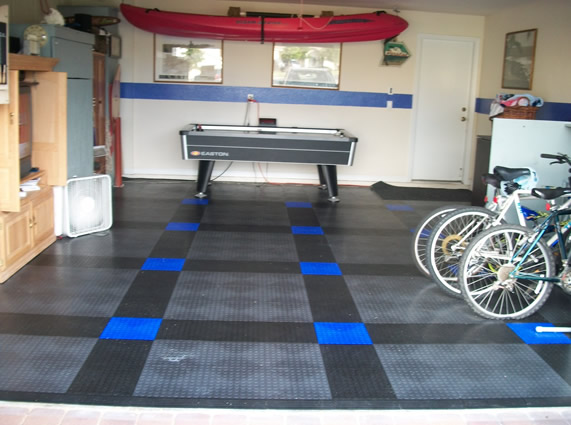 Garage Tiles- Customer
